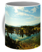 Alpine Lake Off The Beartooth Highway Coffee Mug