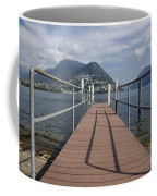 Alpine Lake With A Pier Coffee Mug