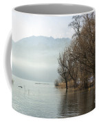 Alpine Lake With Trees Coffee Mug