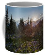 Alpine Meadow Sunrays Coffee Mug