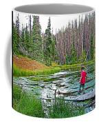 Alpine Pond On Alpine Pond Trail In Cedar Breaks National Monument-utah Coffee Mug