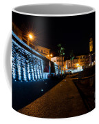 Alpine Village At Night Coffee Mug