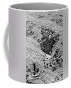 Alpinists On Glacier Coffee Mug