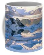 Alsek Glacier In St. Elias Mountains Coffee Mug