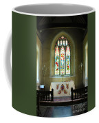 Altar And Stained Glass Window Nether Wallop Coffee Mug