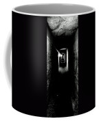 Altered Image Of The Catacomb Tunnels Paris France  Coffee Mug