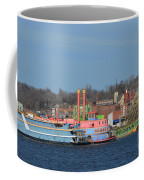 Alton Belle Casino Coffee Mug by Peggy Franz