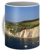 Alum Bay And The Coloured Sand Cliffs Coffee Mug