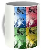 Amaryllis Pop Art Coffee Mug