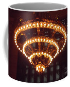 Amazing Art Nouveau Antique Chandelier - Grand Central Station New York Coffee Mug