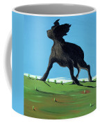 Amazing Black Dog, 2000 Coffee Mug by Marjorie Weiss