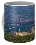 Amazing Medvedgrad Castle And Croatian Capital Zagreb Coffee Mug