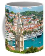 Amazing Town Of Hvar Harbor Coffee Mug