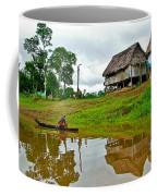 Amazon River Reflections-peru  Coffee Mug