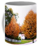 Amber Autumn Twins  Coffee Mug