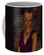 Amber Digital Portait Coffee Mug