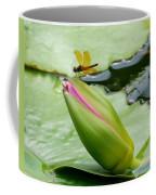 Amber Dragonfly Coffee Mug