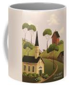 Amber Hills Coffee Mug by Catherine Holman