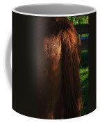 Amber Horse Tail Coffee Mug