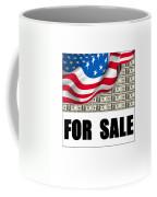 America For Sale Coffee Mug