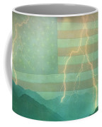 America Walk The Line  Coffee Mug by James BO  Insogna