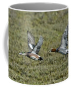 American & Eurasian Wigeons Coffee Mug