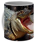 American Alligator Threat Display Coffee Mug