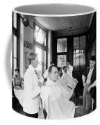 American Barbershop, C1900 Coffee Mug