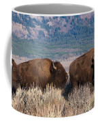 American Bison Trio Coffee Mug