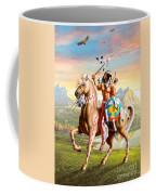 American Brave Coffee Mug by Adrian Cherterman