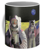 American Cat Astronauts Coffee Mug
