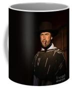 American Cinema Icons - The Man With No Name Coffee Mug