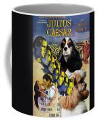 American Cocker Spaniel Art - Julius Caesar Movie Poster Coffee Mug