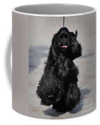 American Cocker Spaniel In Action Coffee Mug
