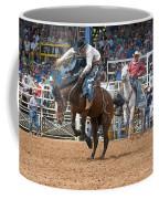American Cowboy Riding Bucking Rodeo Bronc II Coffee Mug