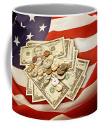 American Currency  Coffee Mug by Les Cunliffe