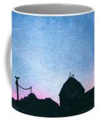 American Farm #1 Silhouette Coffee Mug