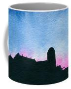 American Farm #2 Silhouette Coffee Mug