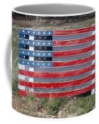 American Flag Country Style Coffee Mug