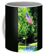 American Flag - Honoring John Coffee Mug