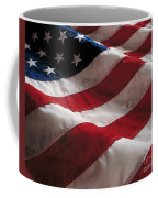 American Flag Coffee Mug by Jon Neidert