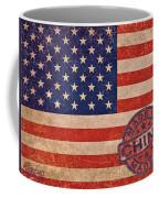American Flag Made In China Coffee Mug