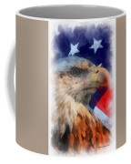 American Flag Photo Art 03 Coffee Mug