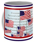 American Flag Tribute  Coffee Mug