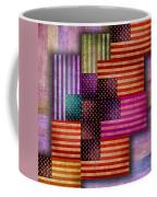 American Flags Coffee Mug