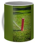 American Football Field Marker Coffee Mug