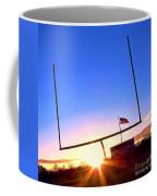 American Football Goal Posts Coffee Mug