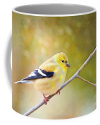 American Goldfinch - Digital Paint Coffee Mug