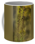 American Goldfinch Eating Seeds Coffee Mug