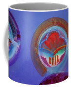 American Gothic Button Coffee Mug